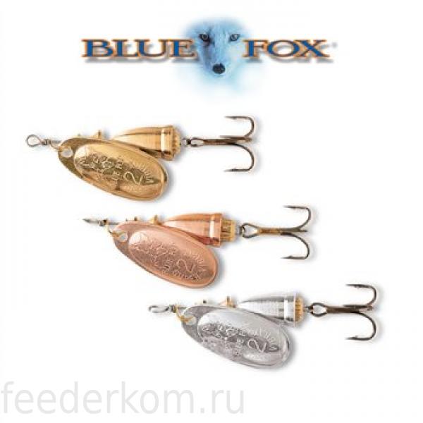 набор блесен blue fox original bf fluorescent bff 100 шт