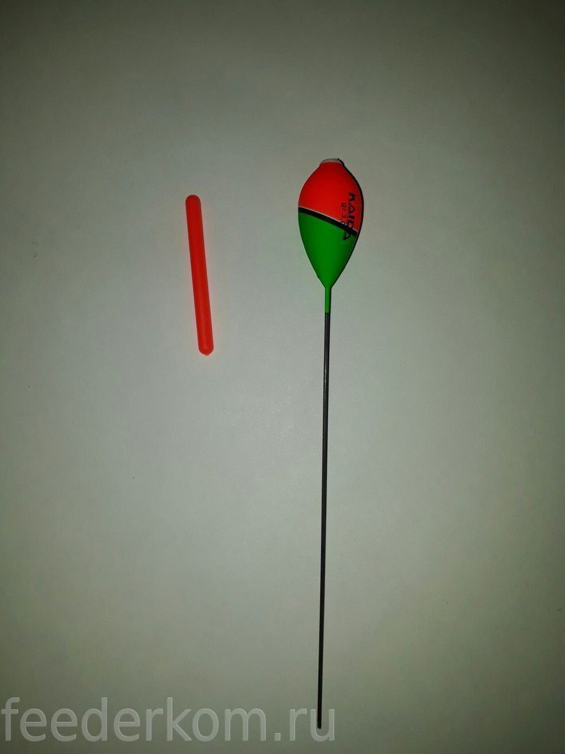 Поплавок с шариком на антенне