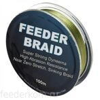 Плетёный шнур SUFIX FEEDER BRAID GORE OLIVE GREEN 100 m
