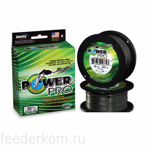 Плетёный шнур POWER PRO MOSS GREEN 135 m