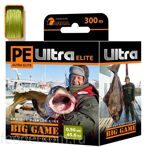 Плетеный шнур PE ULTRA ELITE BIG GAME Olive